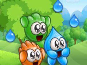 ألعاب كمبيوتر خفيفة ومسلية للاطفال على النت Blobs Plops
