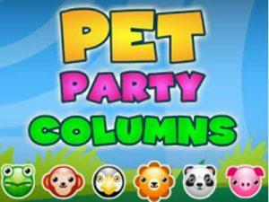 العاب ذكاء وتفكير 2017 - العاب فلاش Pet Party Columns