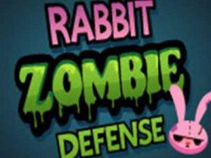 العاب زومبي  بدون تحميل اون لاين Rabbit Zombie Defense